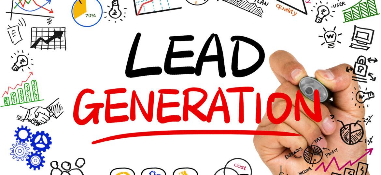 lead generation concept handwritten on whiteboard
