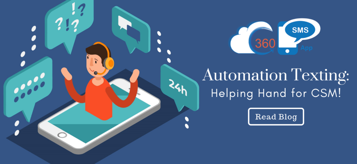automation texting in Salesforce