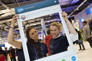 Highlights of Salesforce world tour london