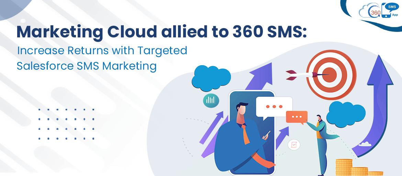 Marketing cloud & 360 SMS