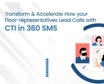 CTI in 360 SMS