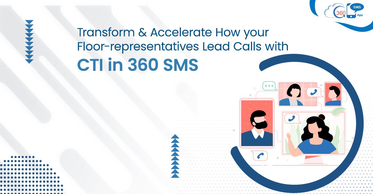 CTI in 360 SMS App