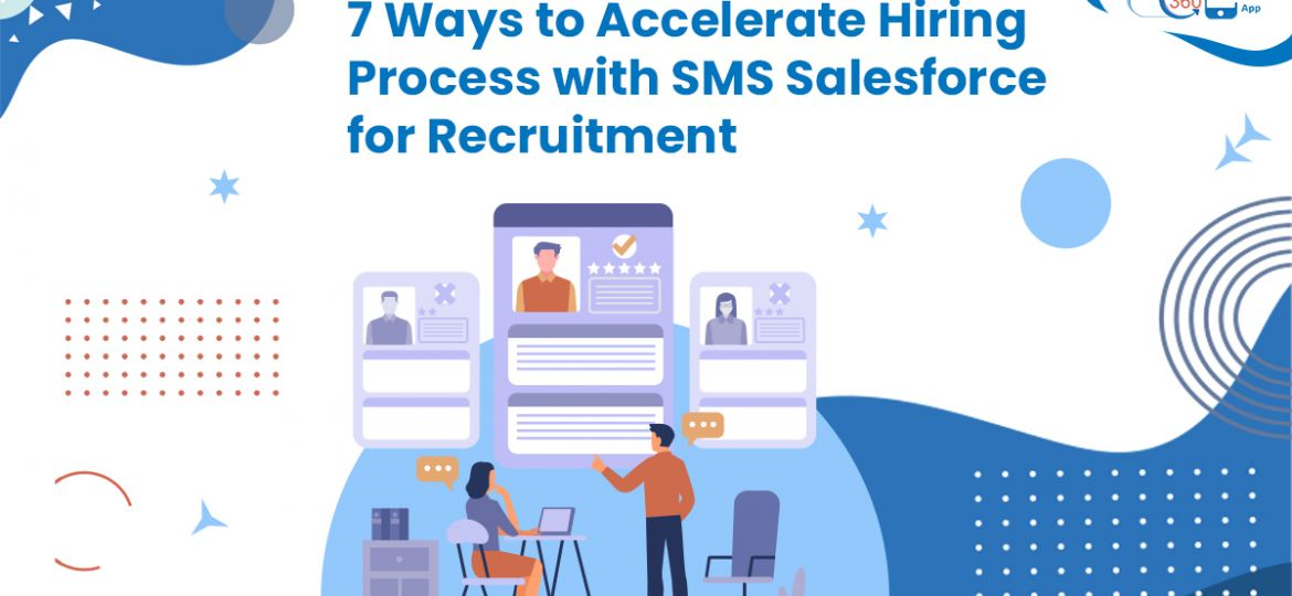 SMS Salesforce for Recruitment