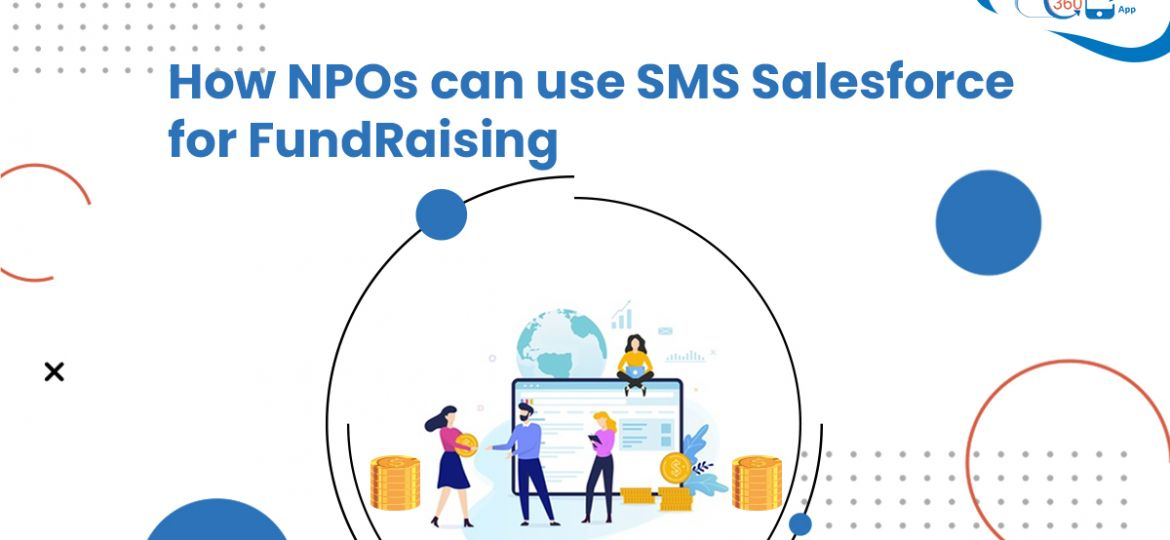 SMS Salesforce for fundraising