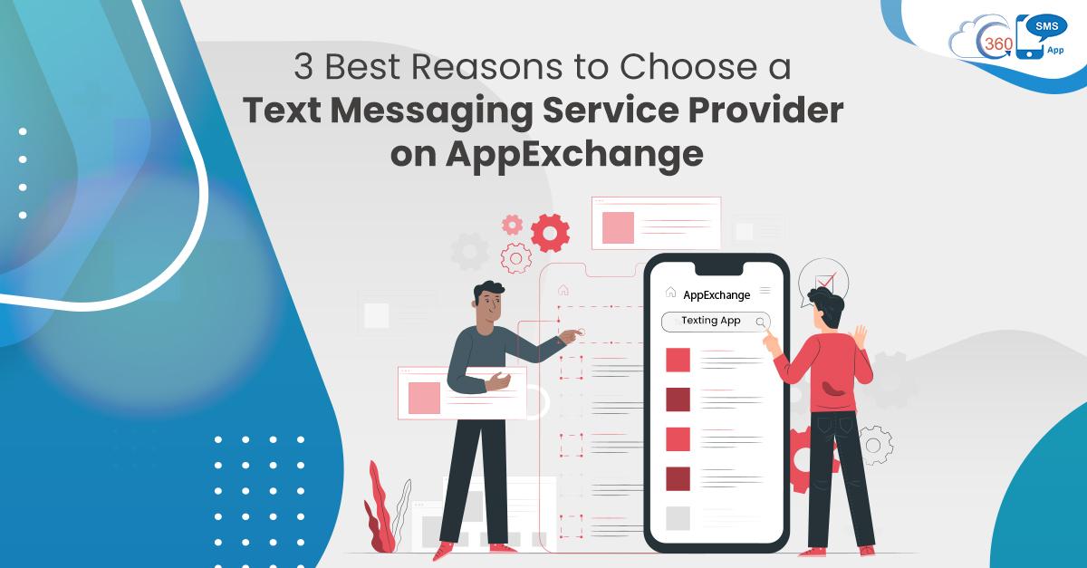 SMSservice provider on AppExchange